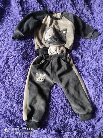 Продам теплый детский костюмчик