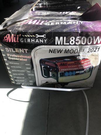 Gerador 8500w novo gasolina