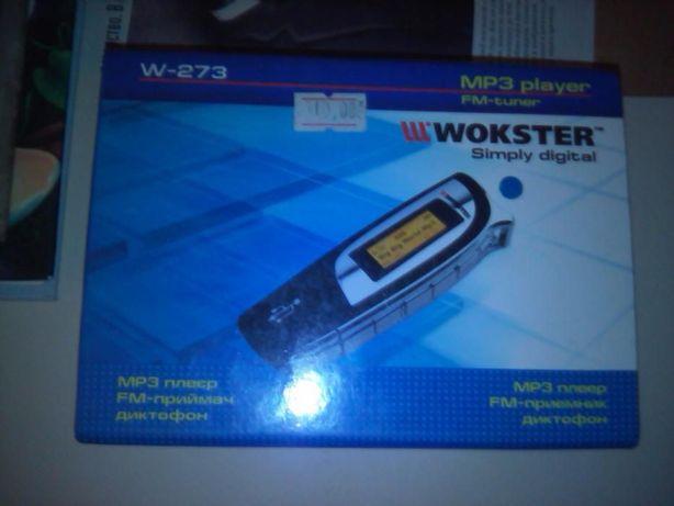 плеер для музыки WOKSTER W-273 2Gb