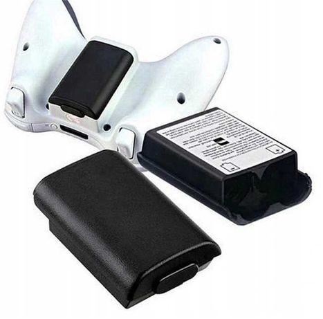 Czarna pokrywa klapka koszyk baterii pada XBOX 360 ** Video-Play