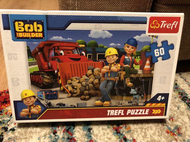 Puzzle Bob budowniczy 60 el.