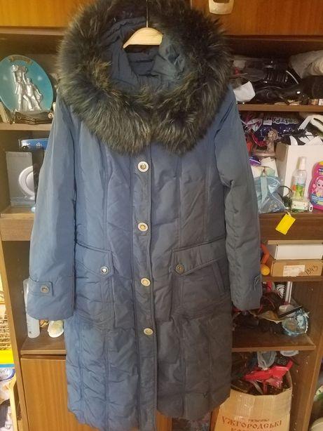 Срочно!Пальто-куртка длинная пуховик!.XL 46-48-50