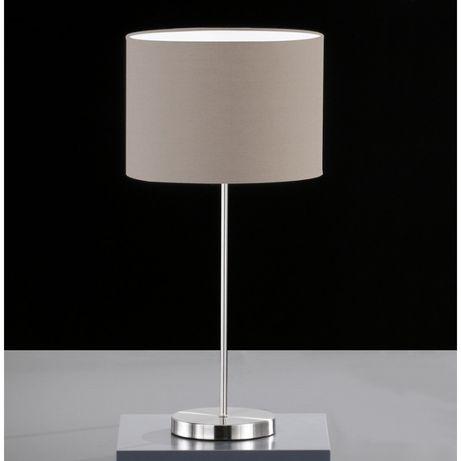 LOFT Lampka nocna w stylu Skandynawskim HONSEL 97321 cappuccino abażur