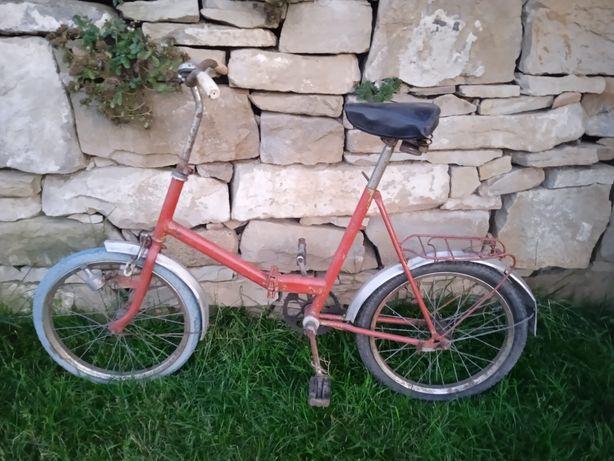 Rower PRL składak
