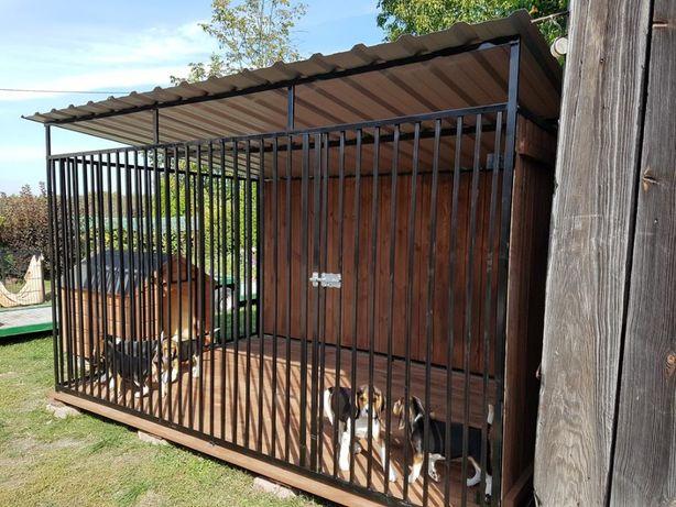 Kojec Klatka Zagroda Buda dla psa 2mx2m Montaż Gratis Solidny!