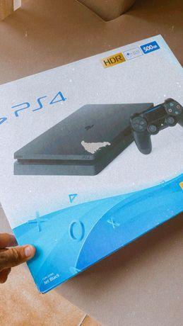 PS4 PlayStation 4 Slim NOVA c/ GARANTIA 2 anos, em CAIXA