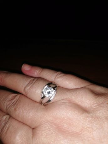 Pierścionek srebrny próba 925
