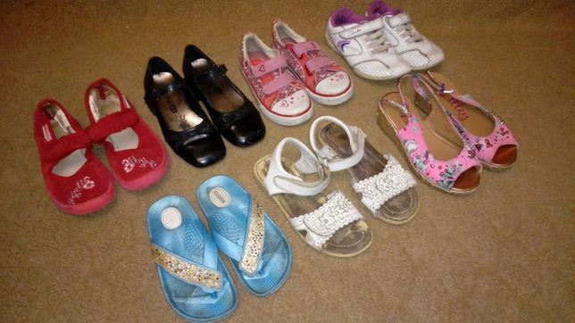 3 Кроссовки кеды Clarks, туфли босоножки тапки вьетнамки 17-18,3 см 27
