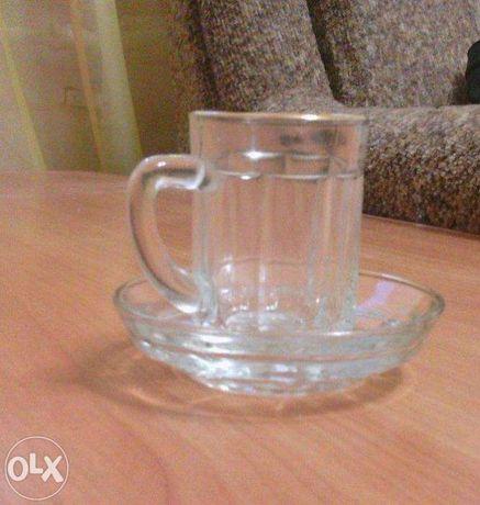 чашка с блюдцем кофейная оригинальная