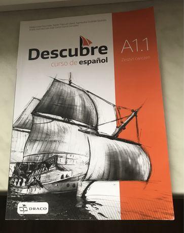 Zeszyt ćwiczeń j. hiszpański descubre A1.1