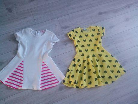 Nowe sukienki , sukienka 116/122