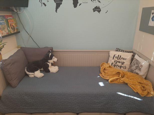 Łóżko rozkładane ikea Hemnes