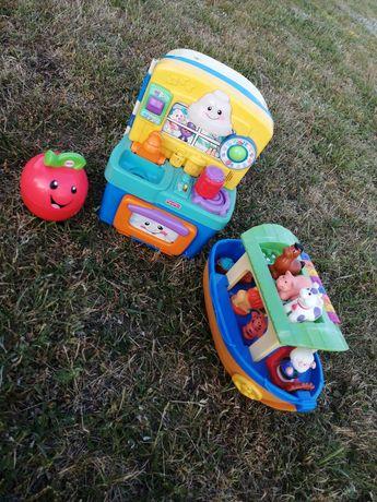 Zestaw zabawek dla niemowląt