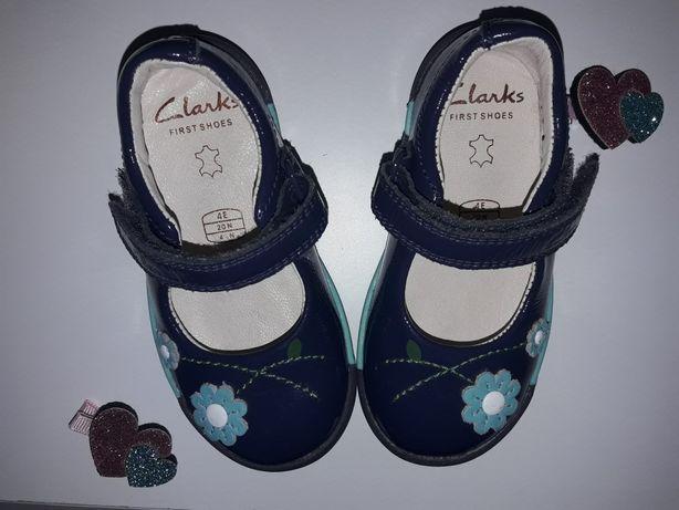 Туфли кожаные туфельки Klarks для девочки