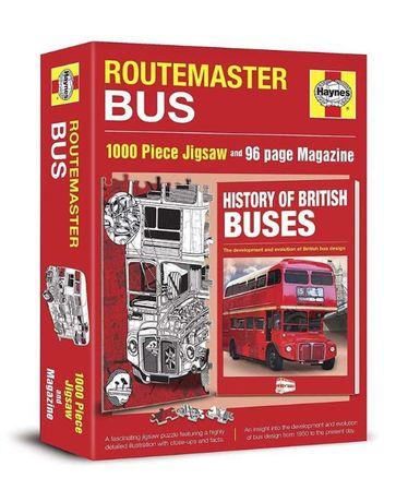 Puzzle Haynes Routemaster Bus 1000el. + 96 str. magazyn