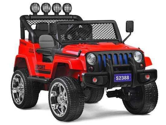 Auto terenowy J E E P 4x4 na akumulator samochód pojazd