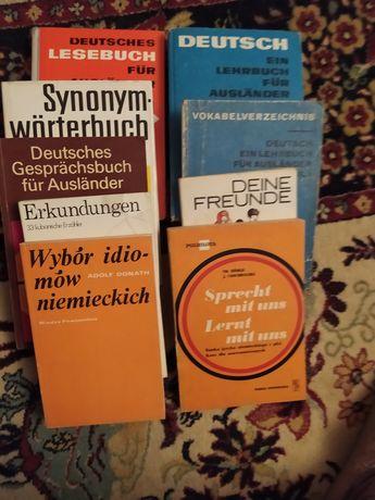 Książki do nauki języka niemieckiego niemiecki język