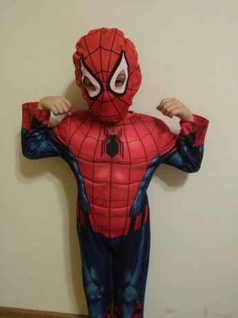 Людина Павук 3-4 роки , Супергерой з ліхтариком проектором від MARVEl