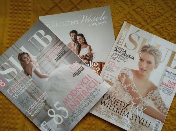 Gazety dotyczące organizacji ślubu i wesela