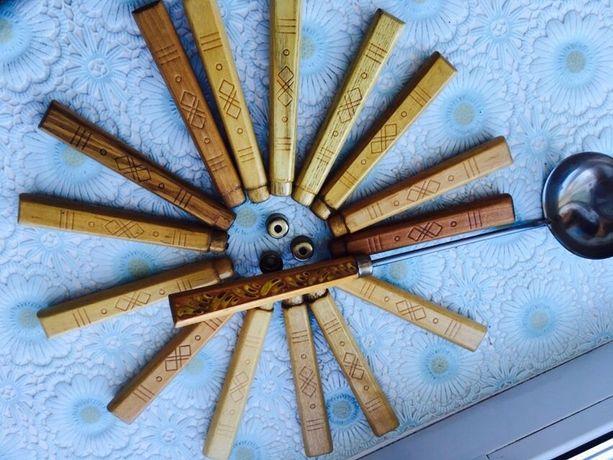 Рукоятки ручки деревянные заготовки под кухонные предметы