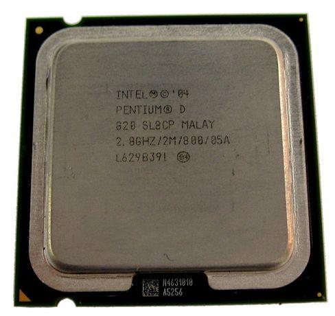 Двухядерный Intel Pentium D 820, s775