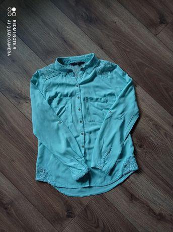 Koszula miętowa rozm. 36