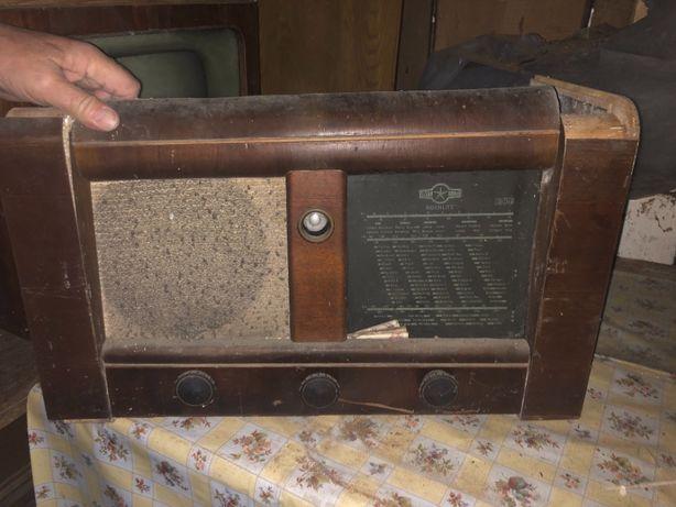 Radio lampowe Rochlitz model Stern zabytkowe antyk