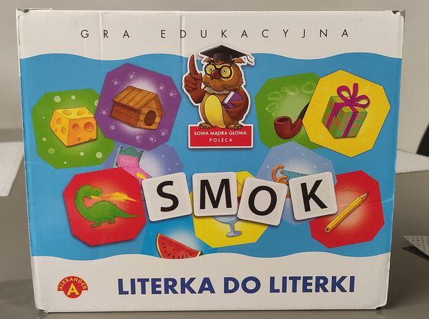 Gra edukacyjna Literka do literki