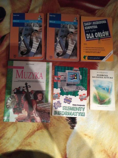 sprzedam podręczniki szkolne, muzyka i inne