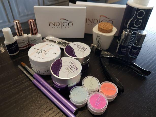Vendo Kit de acrilico e acessórios marca Indigo