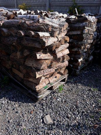 Drewno kominkowe brzoza sosna dąb osika drzewo