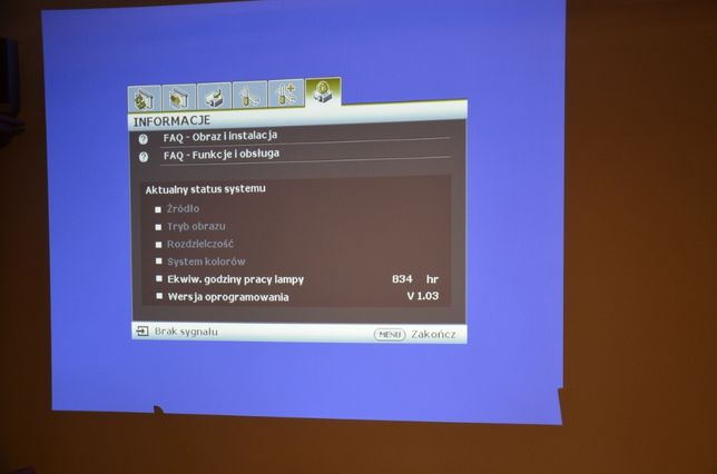 Projektor Benq MS510 HDready HDMI jak nowy!