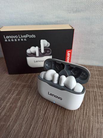 100% Оригинал Lenovo LP1 TWS беспроводные наушники Bluetooth 5,0