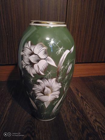 Duży wazon porcelana Chodzież PRL