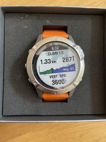 Новые Смарт-часы Garmin Fenix 6 Pro Sapphire Titanium