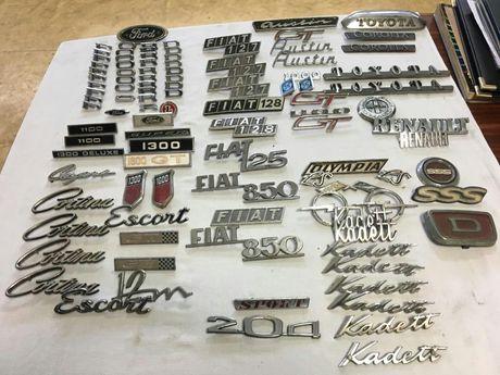 Emblemas de carros antigos