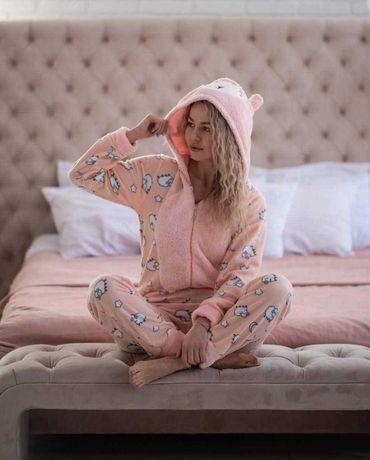 Новинка Турецкая женская пижама комбинезон попожама наложка Popojama