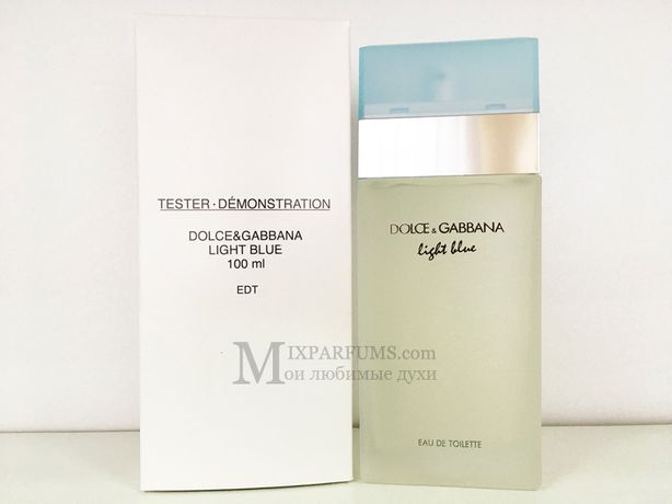 Оригинал Dolce Gabbana Light Blue edt 100 ml w TESTER Туалетная Женска