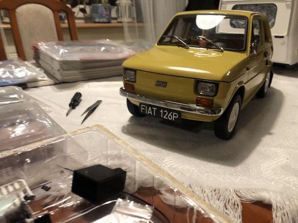 Model Fiat 126p De Agostini