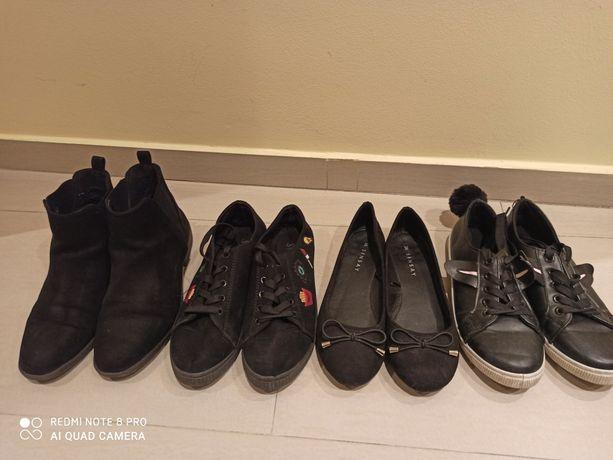 Buty dziewczęce, botki wiosenne