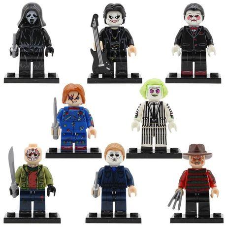 Фигурки Майерс Крик Дрейвен Пила Джейсон Вурхиз Битлджус Lego Лего