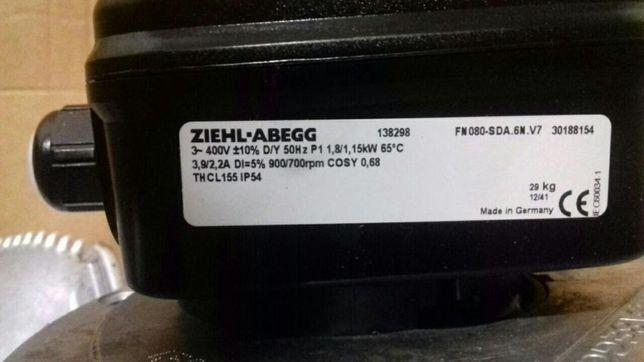 Вентилятор осевой ZIEHL-ABEGG.