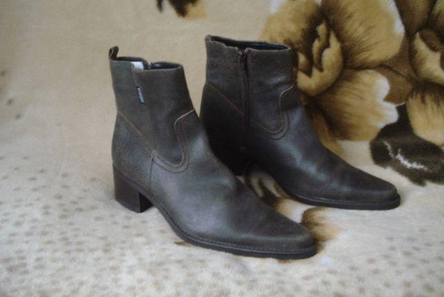 Wrangler 40 р. новые.крутые брендовые демисез кожаные ботинки