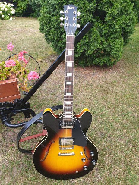 Gitara BURNY SRSA-65 Hollow Body. JAPONIA JAPAN. Zamiana.