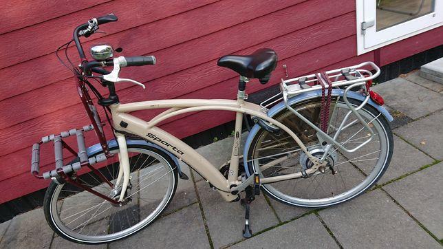 Rower elektryczny Sparta ion geritt style unikat. Typowy Holender
