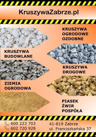 Kamień,Kruszywo,Kruszywa,Piasek,Ziemia,Kliniec,Dolomit,Ogrodowy Kamień