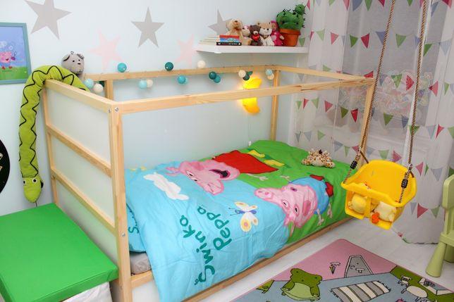 Ikea Kura łóżko piętrowe, dwustronne, dziecięce, ŁÓDŹ