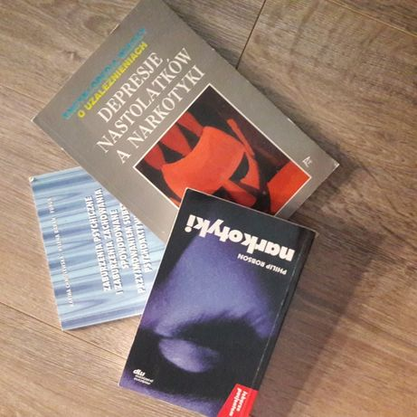 3 książki o narkotykach