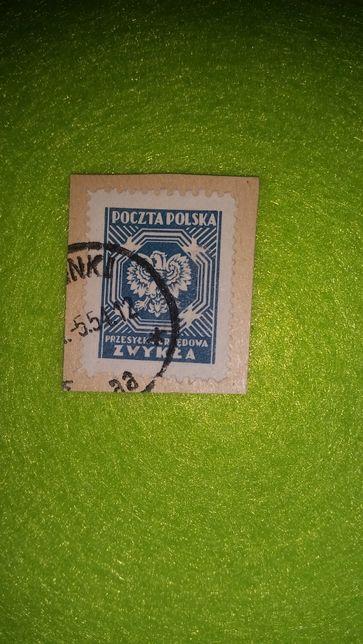 ZNACZEK pocztowy z 1954 r.