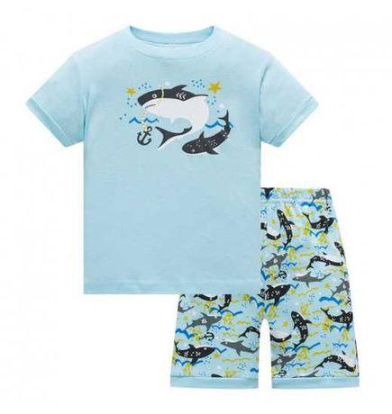 Комплект костюмчик пижама для мальчика АКУЛА BAOBABY
